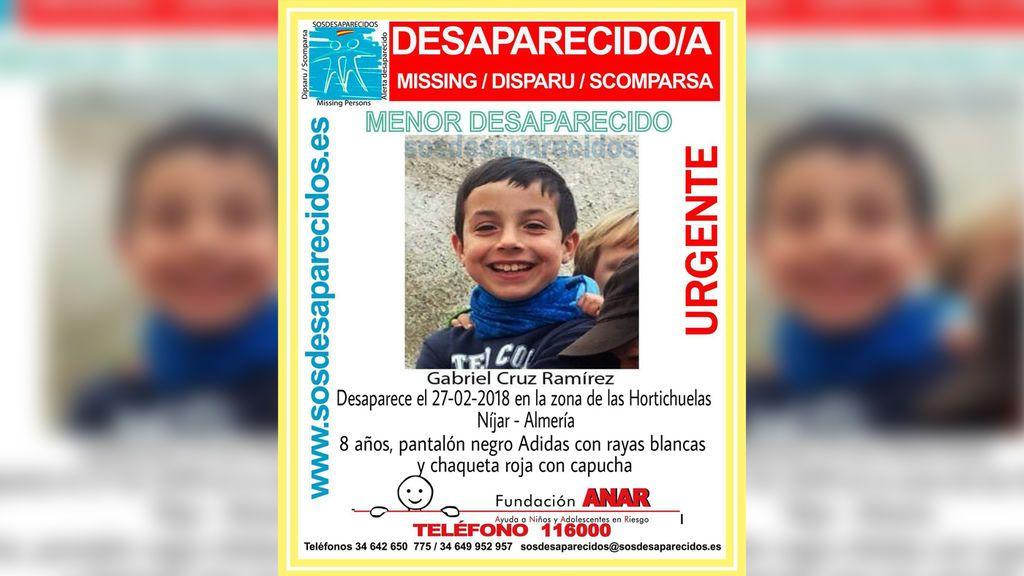Buscan a un niño de ocho años desaparecido en Níjar (Almería)