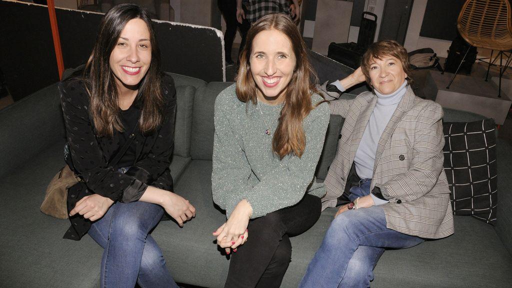 Laura Marón, Patricia Guzmán y Pilar Marcos, de El Corte Inglés