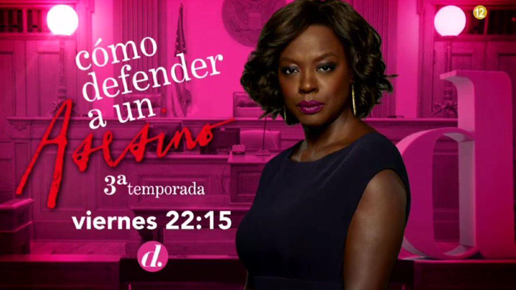 'Cómo defender a un asesino': Nuevos capítulos de la tercera temporada el viernes a las 22.15 horas, en Divinity