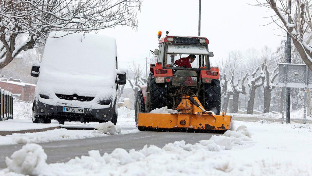 Tres muertos a causa del temporal de nieve, lluvia y viento que azota a España