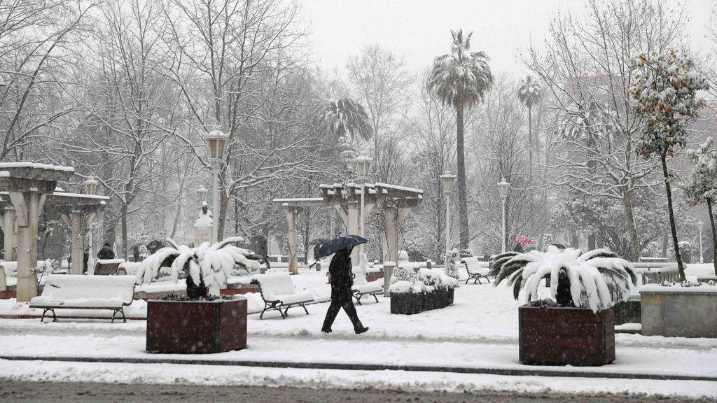 Muere un hombre en Galdakao (Bizkaia) tras sufrir una caída por la nieve