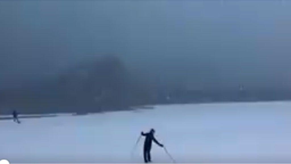 esquiando san sebastian