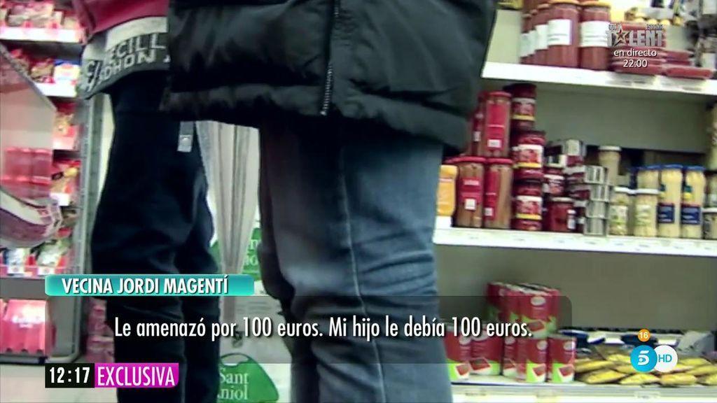 Vecina de Jordi Magentí