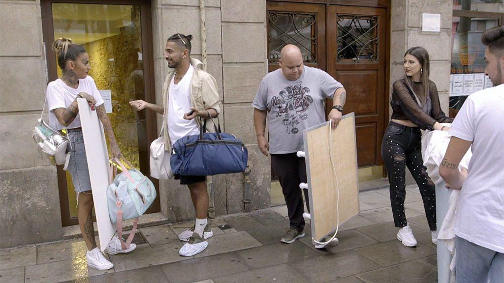 ¡Adiós, Raval! Evans y Duna abandonan su piso tras la última crisis monumental