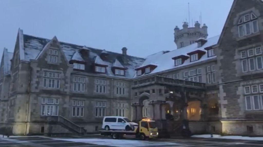 Santander amanece cubierta de nieve 33 años después de la última gran nevada