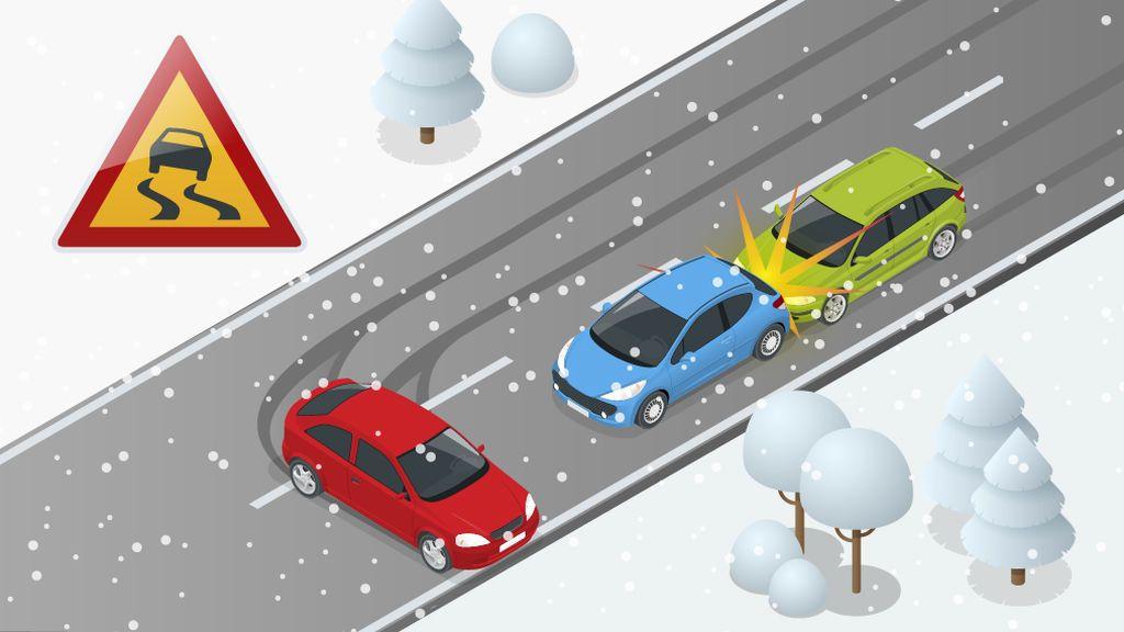 ¡Mucha precaución al volante! Consejos para conducir con hielo y nieve