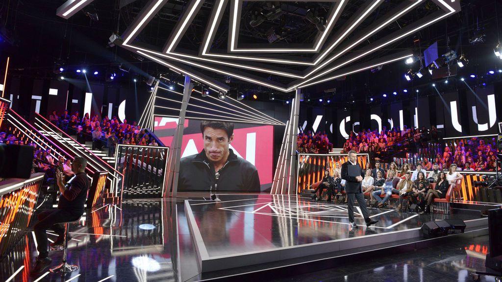 El plató de 'Gran hermano revolution' durante la final del 'reality' de Telecinco.