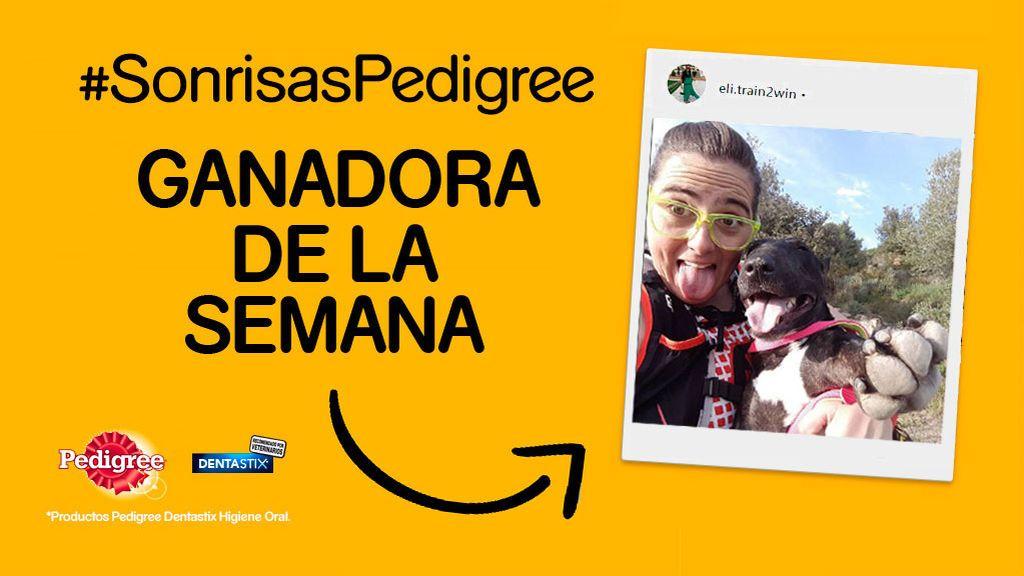 ¡Ya tenemos al primer ganador del concurso #SonrisasPedigree!