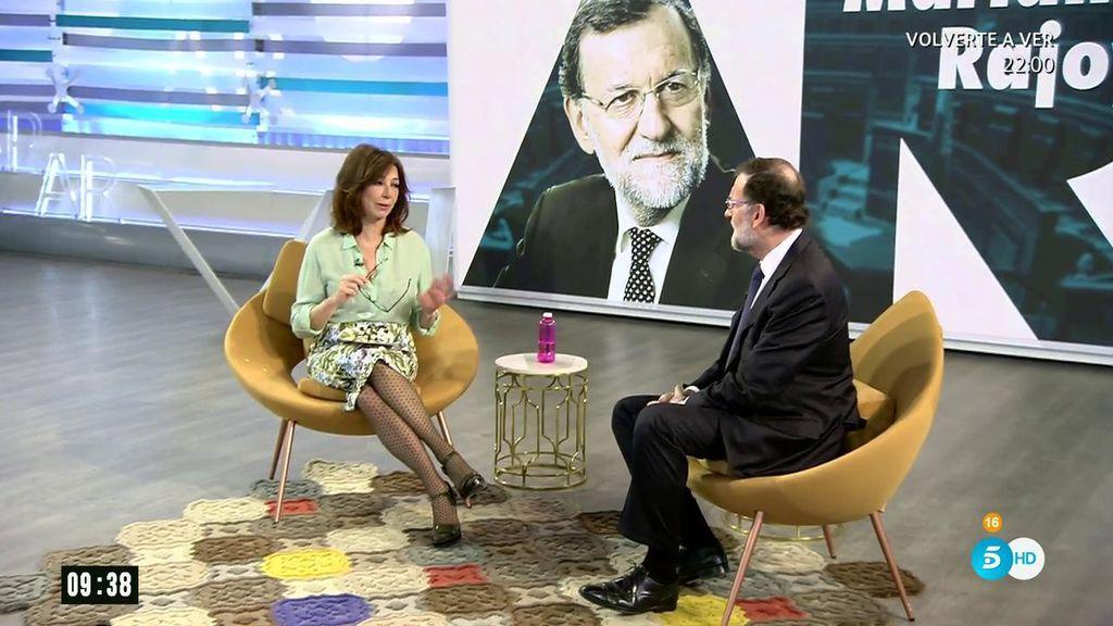 La entrevista completa de Ana Rosa a Mariano Rajoy