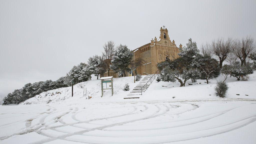 José Emilio Floristán Les en la Virgen del Yugo, Arguedas, Navarra