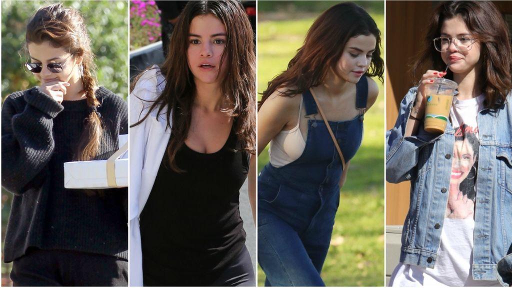 Total look negro, oversize, petos: Los posibles indicios del embarazo de Selena Gómez