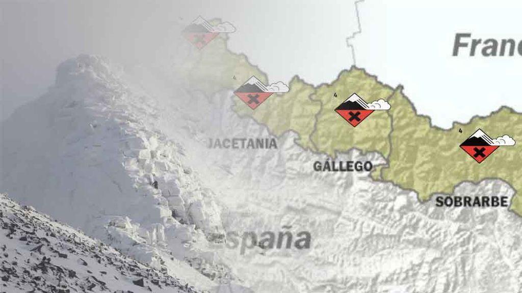 Tras las nevadas, avisos por aludes: ¡varias estaciones están en riesgo extremo!