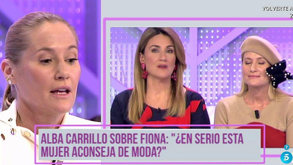 "Fiona Ferrer: ""Nunca ha habido ningún ataque a Paula Echevarria"""