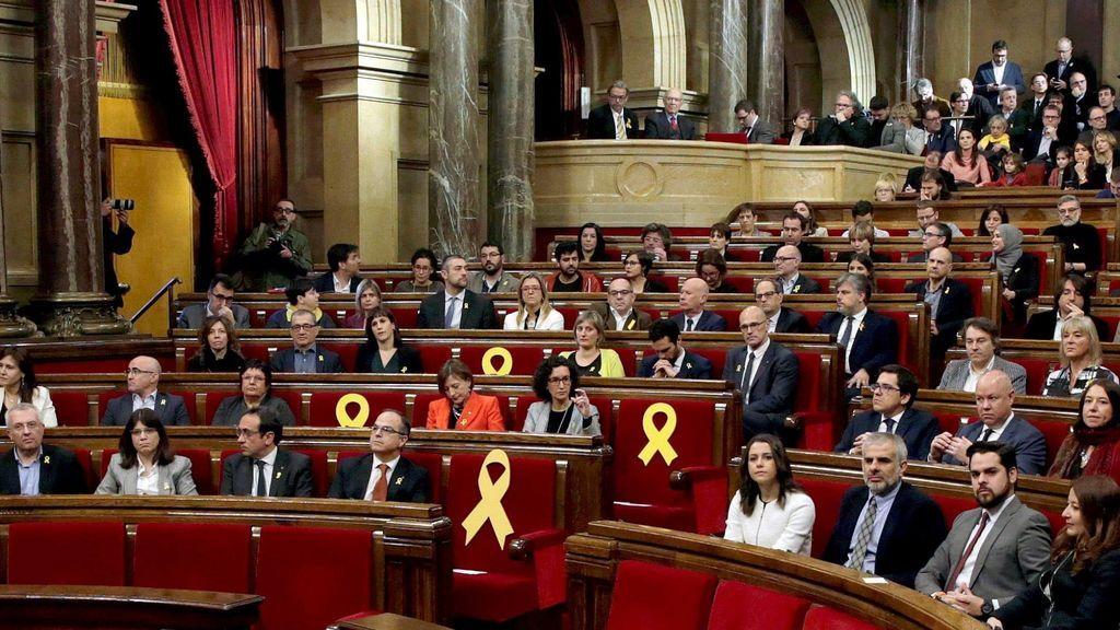 El Parlament legitimará a Puigdemont y reivindicará el 1-O, pero no la DUI