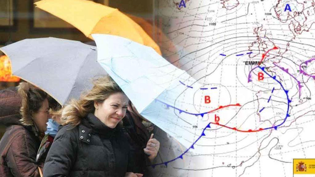¡Nueva borrasca con lluvias este viernes! El 'reguero' de frentes atlánticos sigue imparable