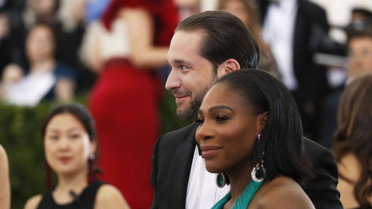 El regalo 'XXL' del marido de Serena Williams a la tenista tras ser madre