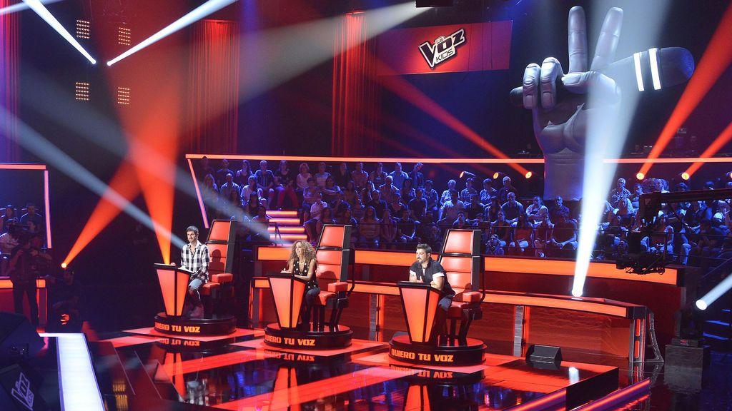 Antonio Orozco cae rendido ante una versión de su tema 'Estoy hecho de pedacitos de ti', el lunes en 'La Voz Kids 4'
