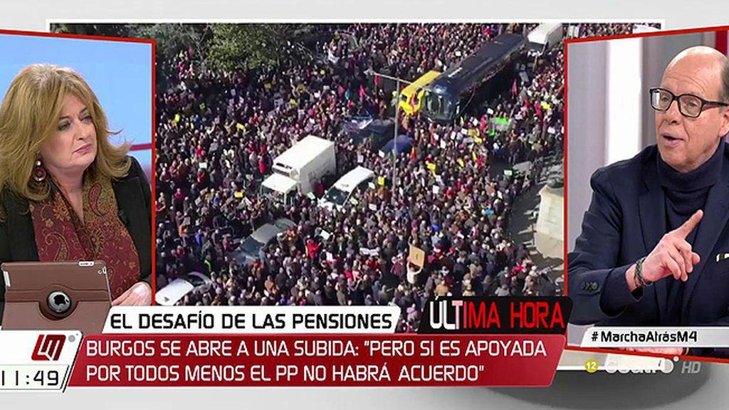 Las pensiones subirán por encima del 0.25% en tres o cuatro meses, según Jaime González