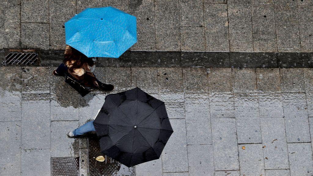 Sucesivas borrascas seguirán dejando lluvias, al menos hasta el jueves