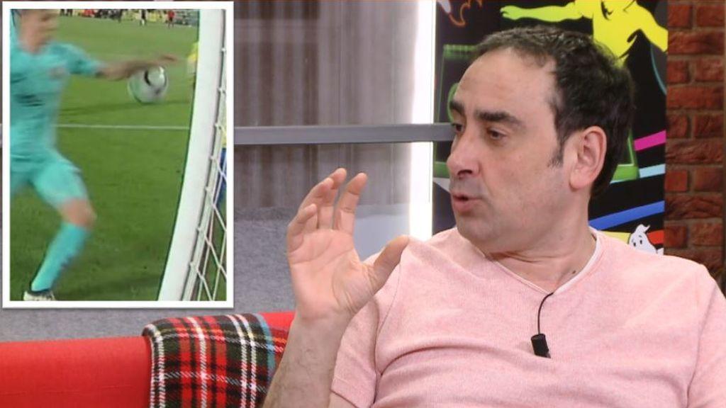"""La 'profecía' cumplida de Iturralde  en 'Partido a partido': """"Habrá penalti a favor de Las Palmas"""""""
