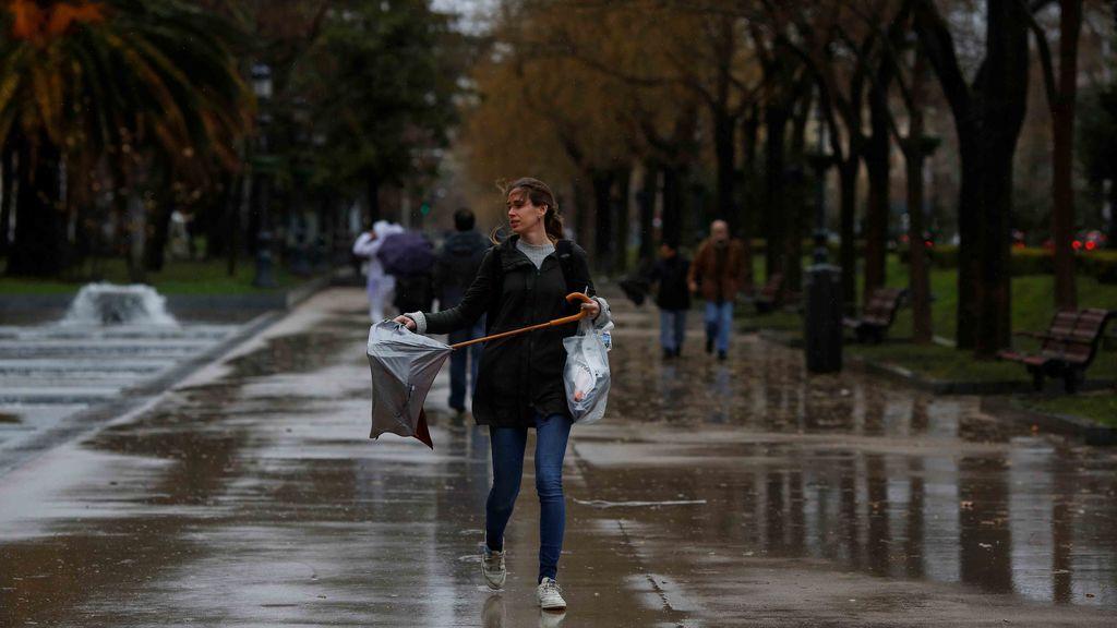 Cuarenta provincias en riesgo por lluvia, nieve, viento, olas y deshielo