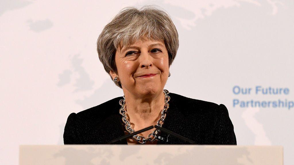 May presenta sus cinco pilares básicos del futuro de Reino Unido fuera de la UE