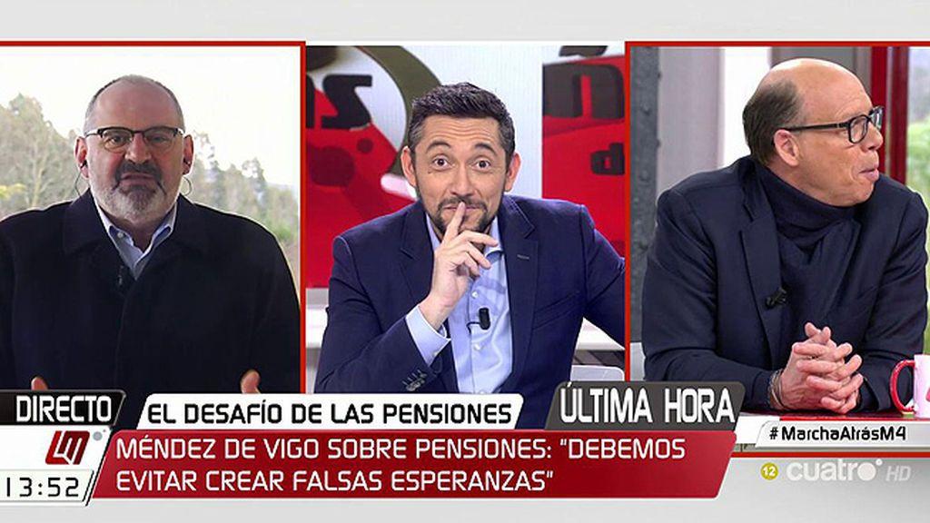 """El pique de Antón Losada con Jaime González: """"Es el verdadero portavoz del Gobierno"""""""