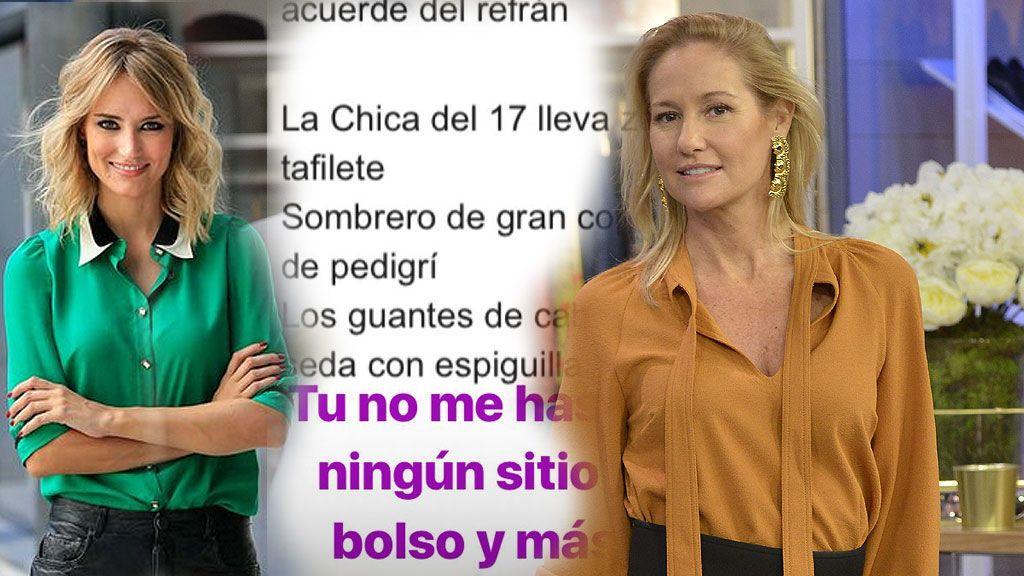"""Alba Carrillo no se da por aludida y vuelve a cargar contra Fiona Ferrer: """"Menos bolso y más pagar"""""""
