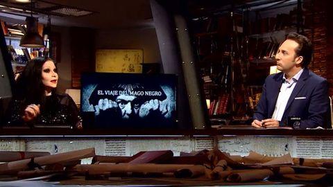 Alaska revela en \'Cuarto milenio\' su interés por el Mago Negro