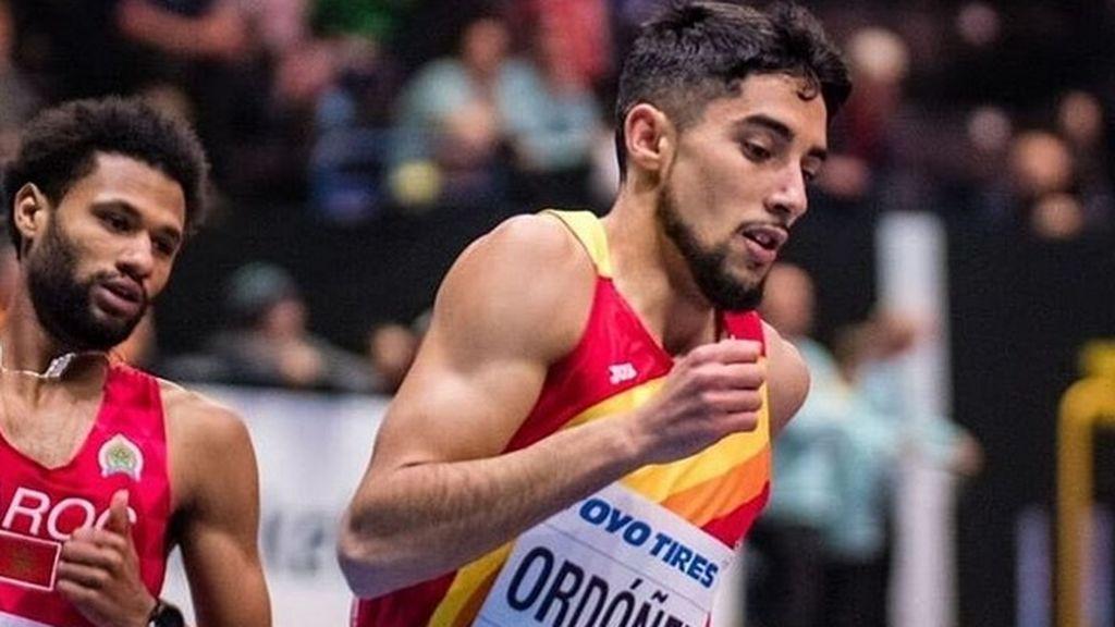 El español Saúl Ordóñez, plata en 800 metros del Mundial