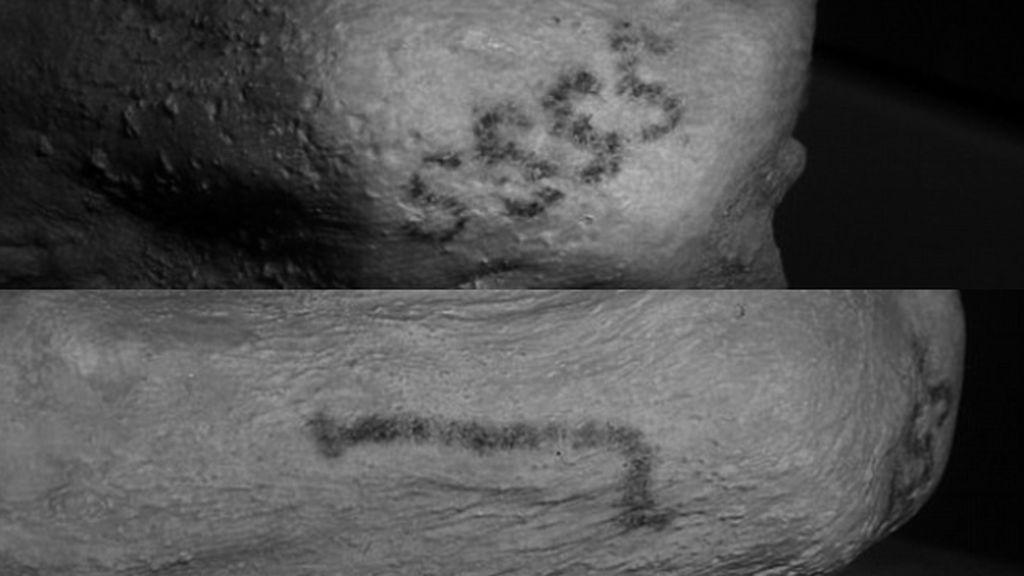 Encuentran tatuajes en momias egipcias de hace 5.000 años