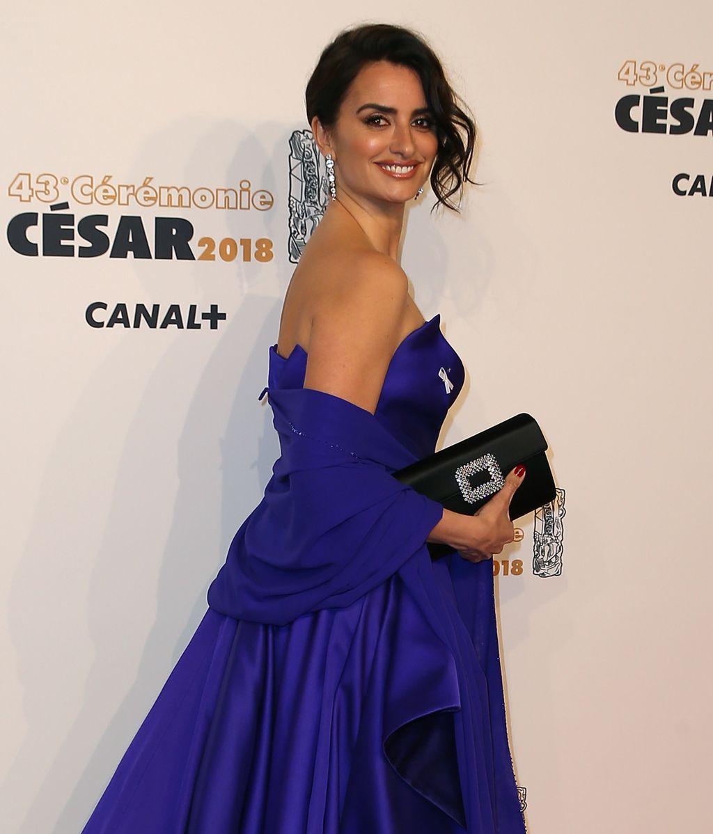Penélope Cruz recibe el César de Honor en París