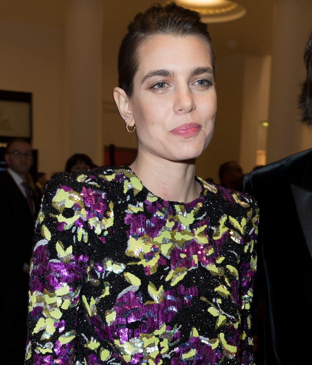 Carlota Casiraghi, acompañada de su pareja Dimitri Rassam