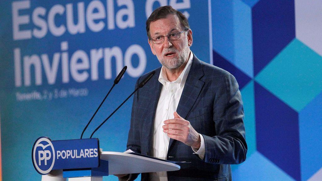 """Rajoy, de las pensiones:  """"Me gustaría más, pero necesitamos seguir creando empleo"""""""