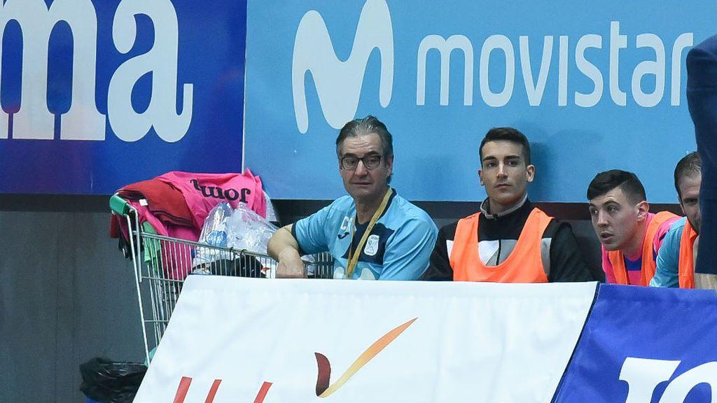 Muere el utillero de Movistar Inter Cecilio Rodríguez en pleno partido