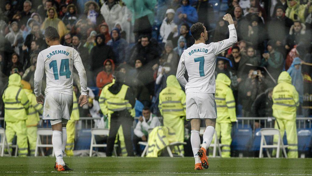 El Real Madrid se lava la cara frente al Getafe antes de su viaje a París (3-1)