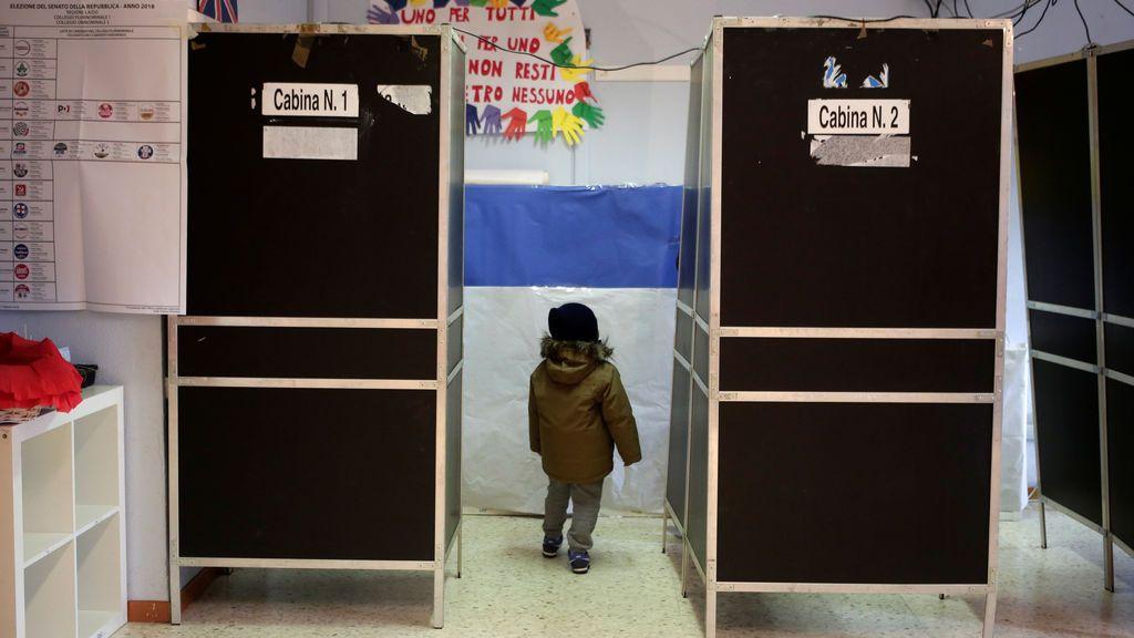 La participación en las elecciones de Italia alcanza el 58,76 por ciento a las 19.00 horas