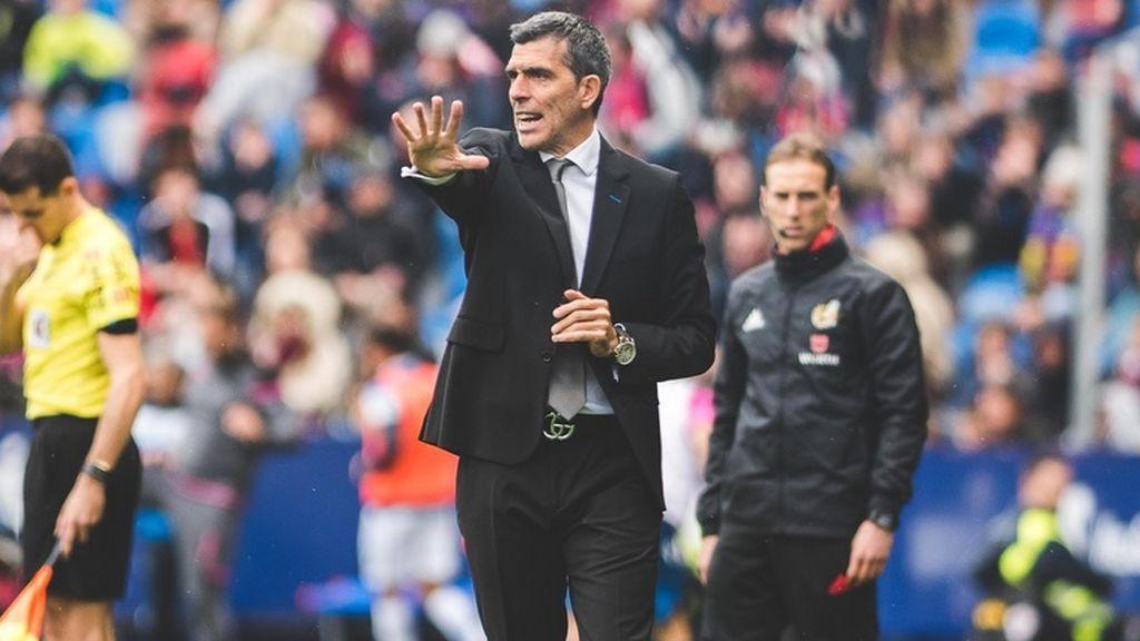El Levante destituye a Juan Ramón López Muñiz y nombra entrenador al técnico del filial, Paco López