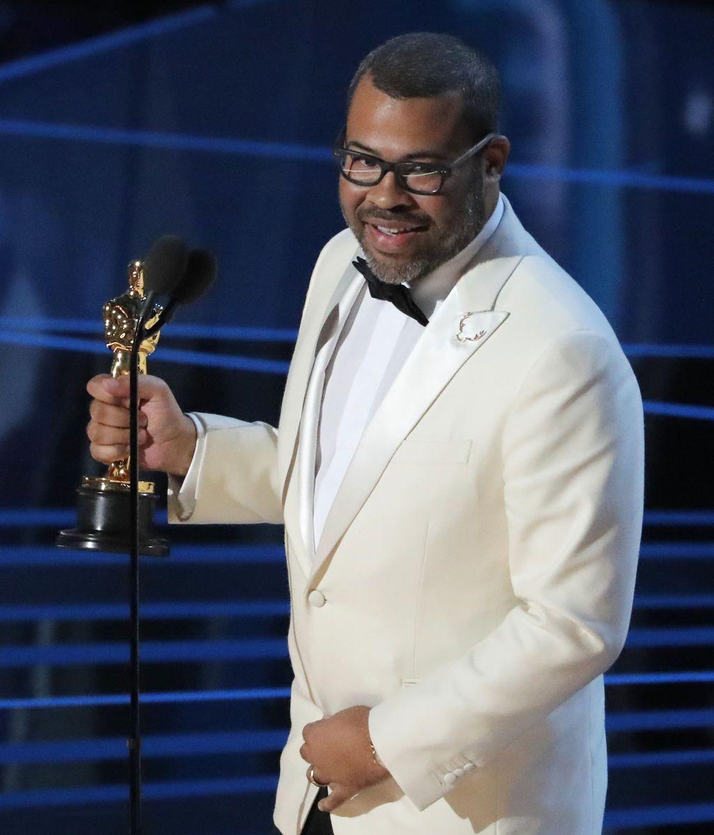 Jordan Peele se hace con el Oscar al mejor guión original por 'Déjame salir'