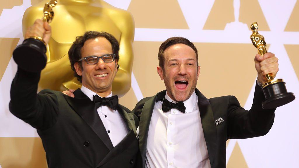 Dan Cogan y  Bryan Foge consiguen el Oscar al mejor documental por 'Icarus'