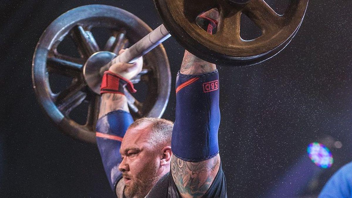'La Montaña' de 'Juego de Troos' bate un récord mundial: levanta 472 kilos