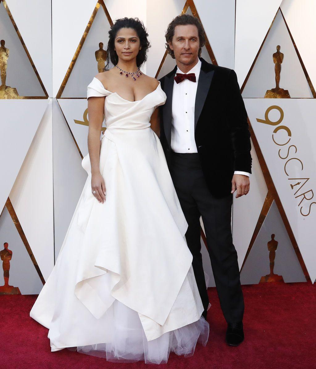 Matthew McConaughey y su mujer, Camilla Alves
