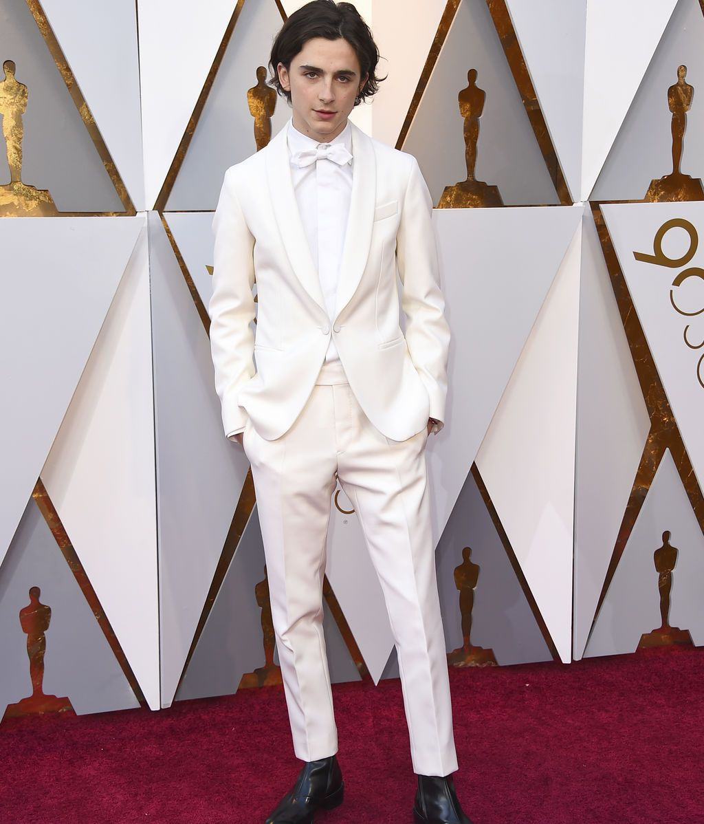 Timothee Chalamet, nominado por 'Call me by your name'