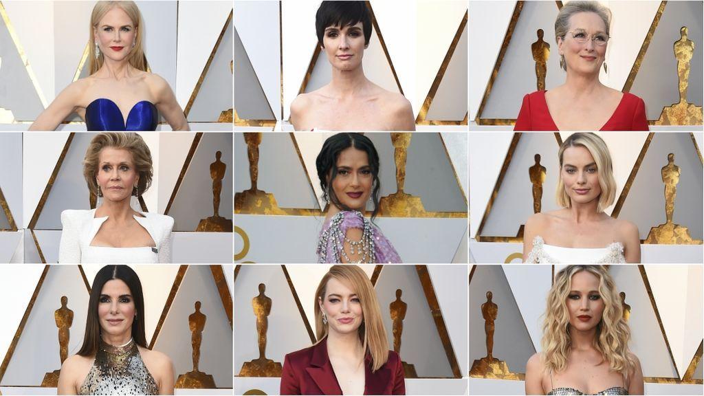 Vota el mejor estilismo de los Oscar 2018