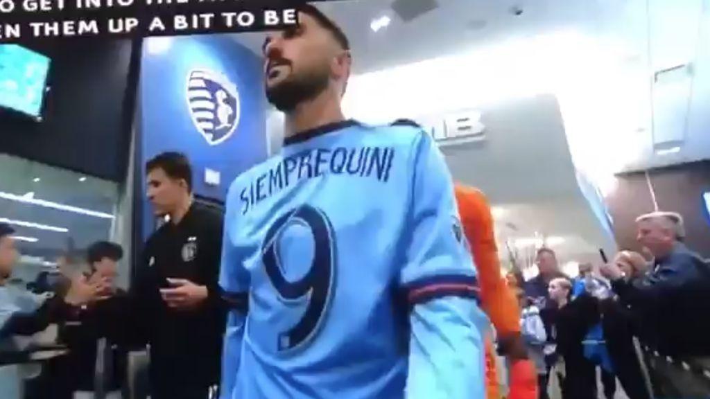 """El sentido homenaje de David Villa a 'Quini' con el New York City: """"Me hubieras regañado por no hacer gol"""""""