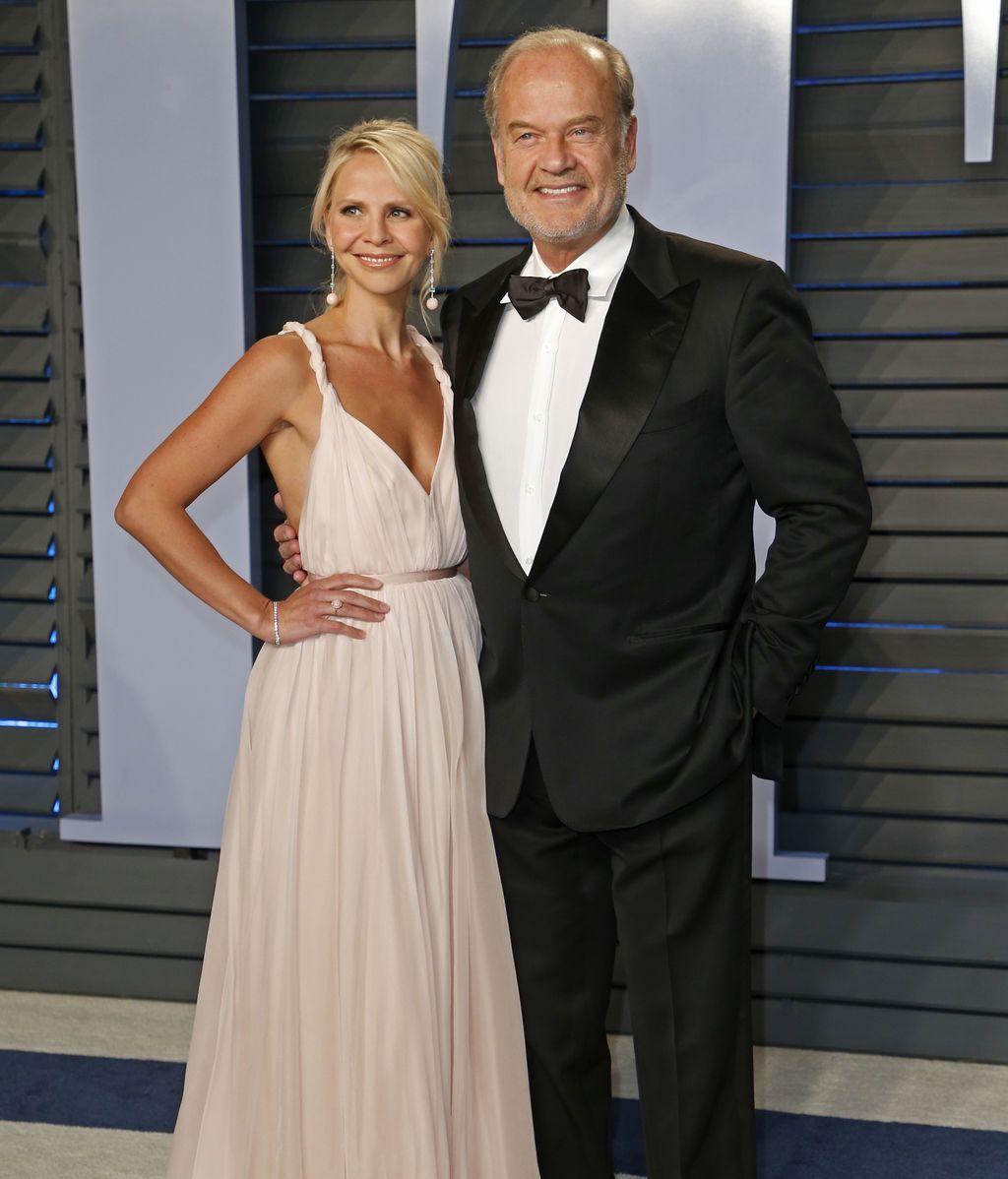 El actor Kelsey Grammer y su mujer,  Kayte Walsh