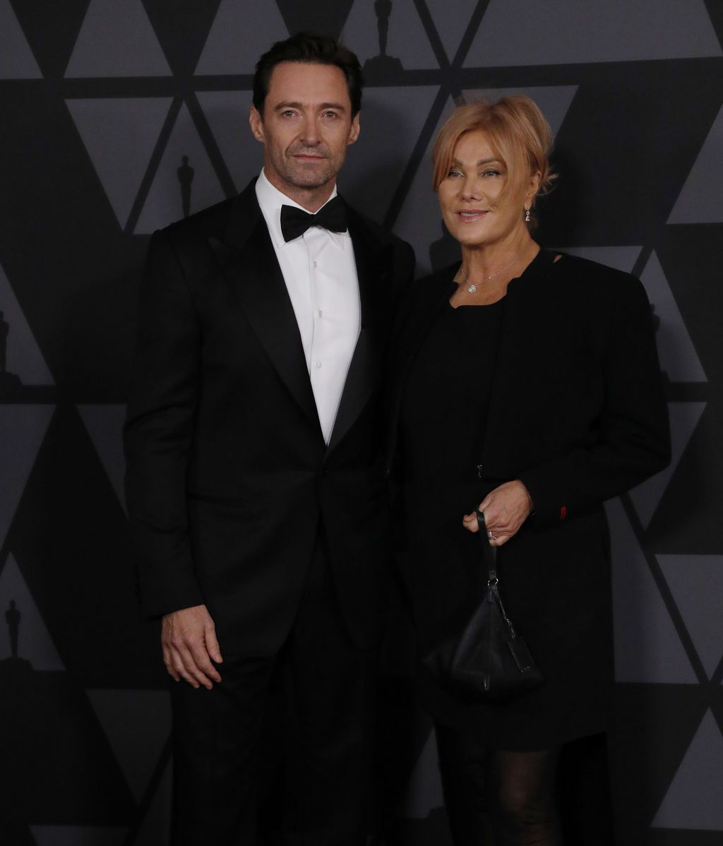 Hugh Jackman y su mujer, Deborra-lee Furness.