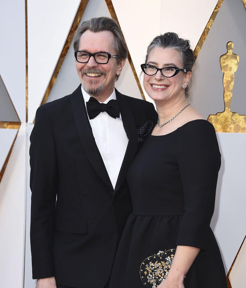 Gary Oldman y su ex mujer, Gisele Schmidt