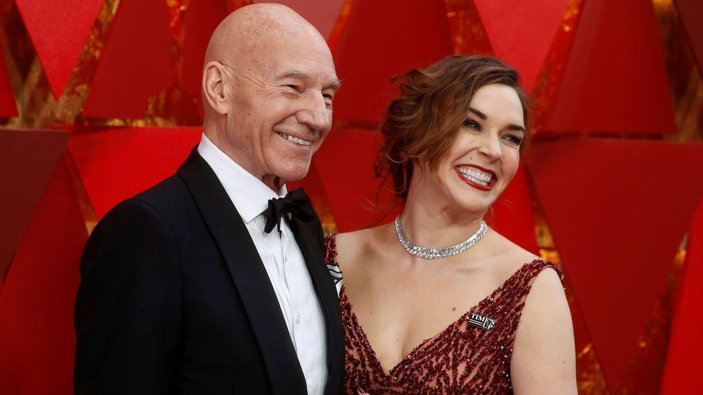 Patrick Stewart y su mujer, Sunny Ozell
