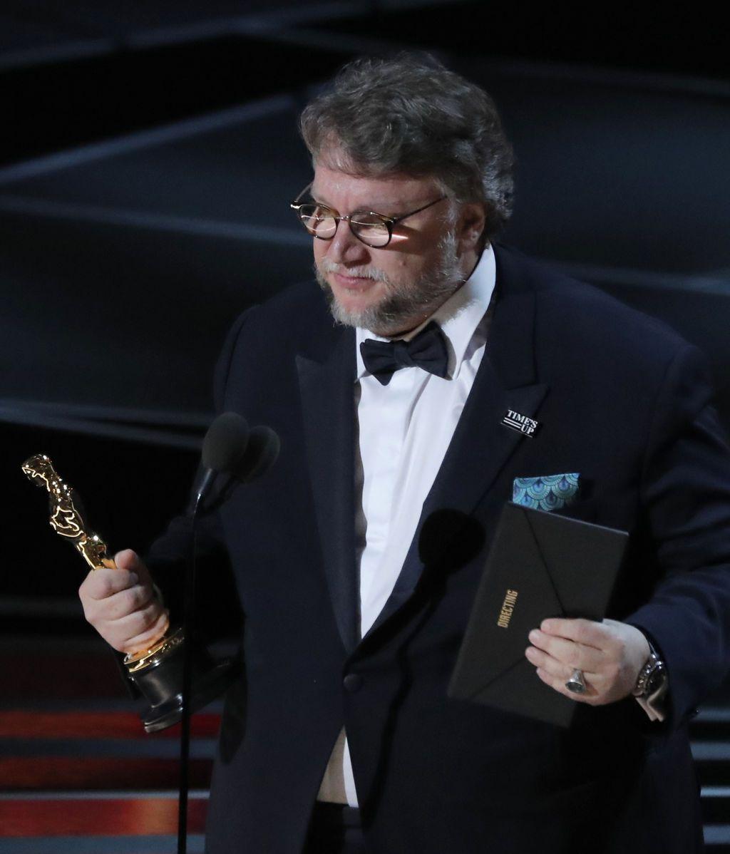 Guillermo del Toro se hace con la estatuilla a mejor director por 'La forma del agua'